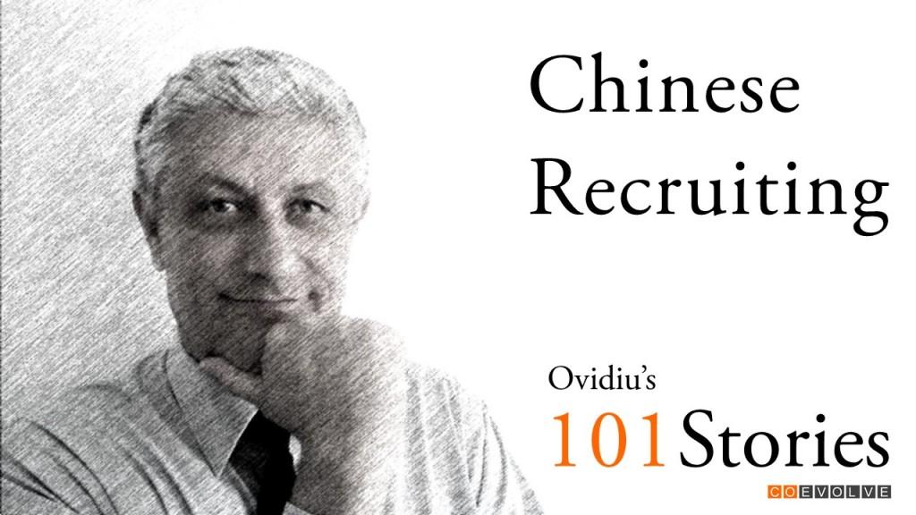 Chinese recruiting